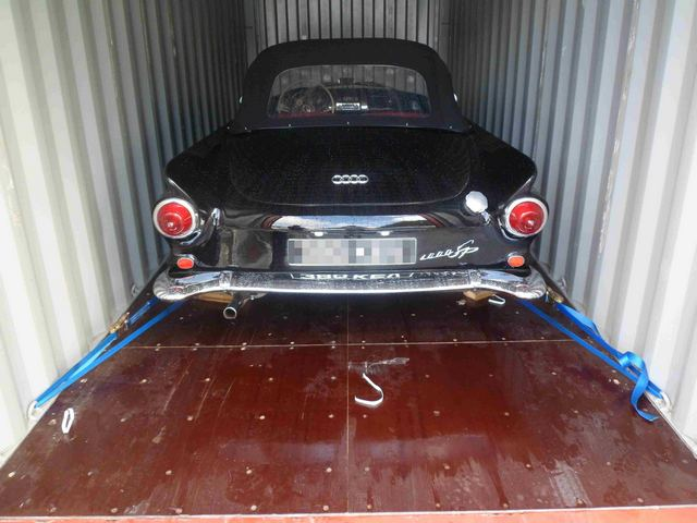 Car Shipping 1961 Auto Union 1000SP