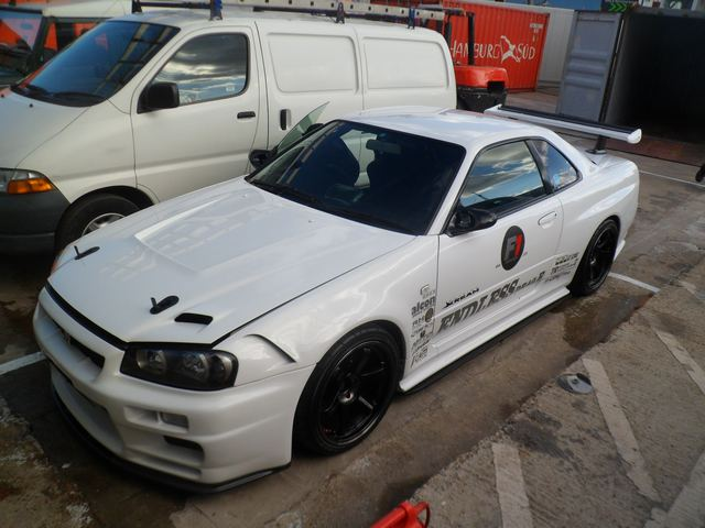 Car Shipping Nissan Skyline