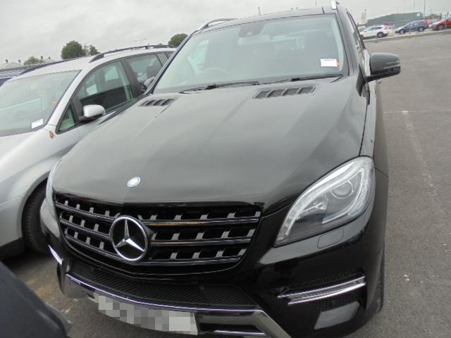 Car Shipping Mercedes ML 250