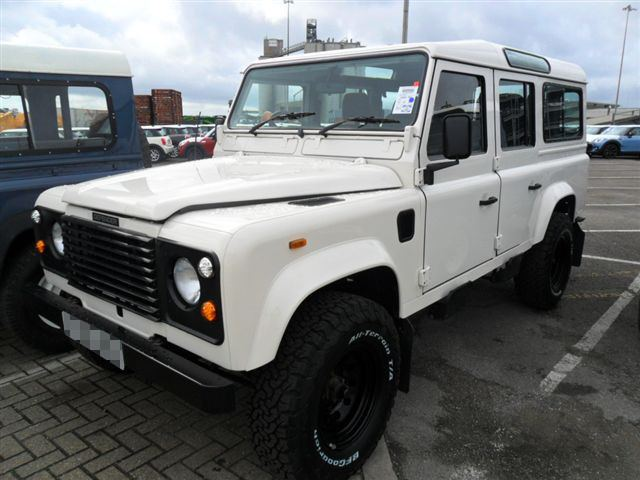 Car Shipping Land Rover 110