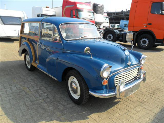 Car Shipping Morris Minor Traveller
