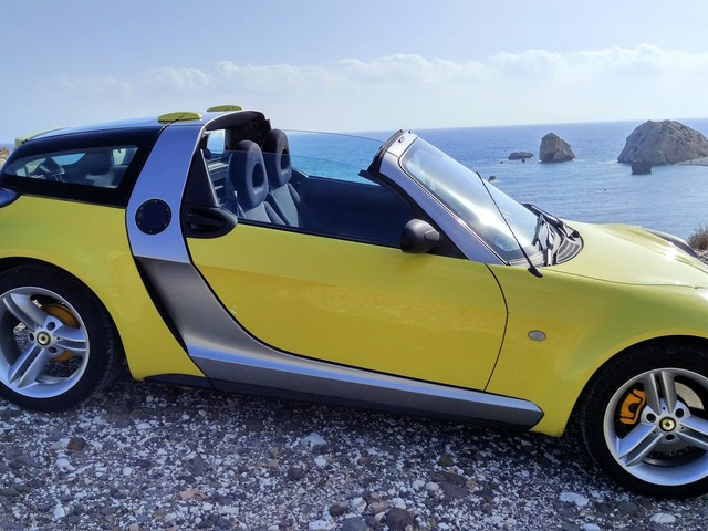 Smart Roadster shipped to Limassol, Cyprus