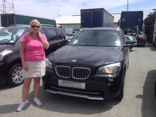 BMW X1 shipped to Limassol, Cyprus