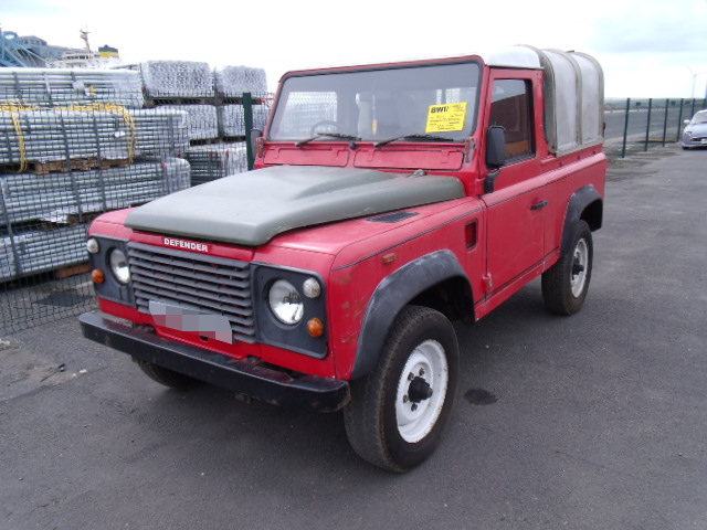 Land Rover Defender 90 shipped to TX, USA