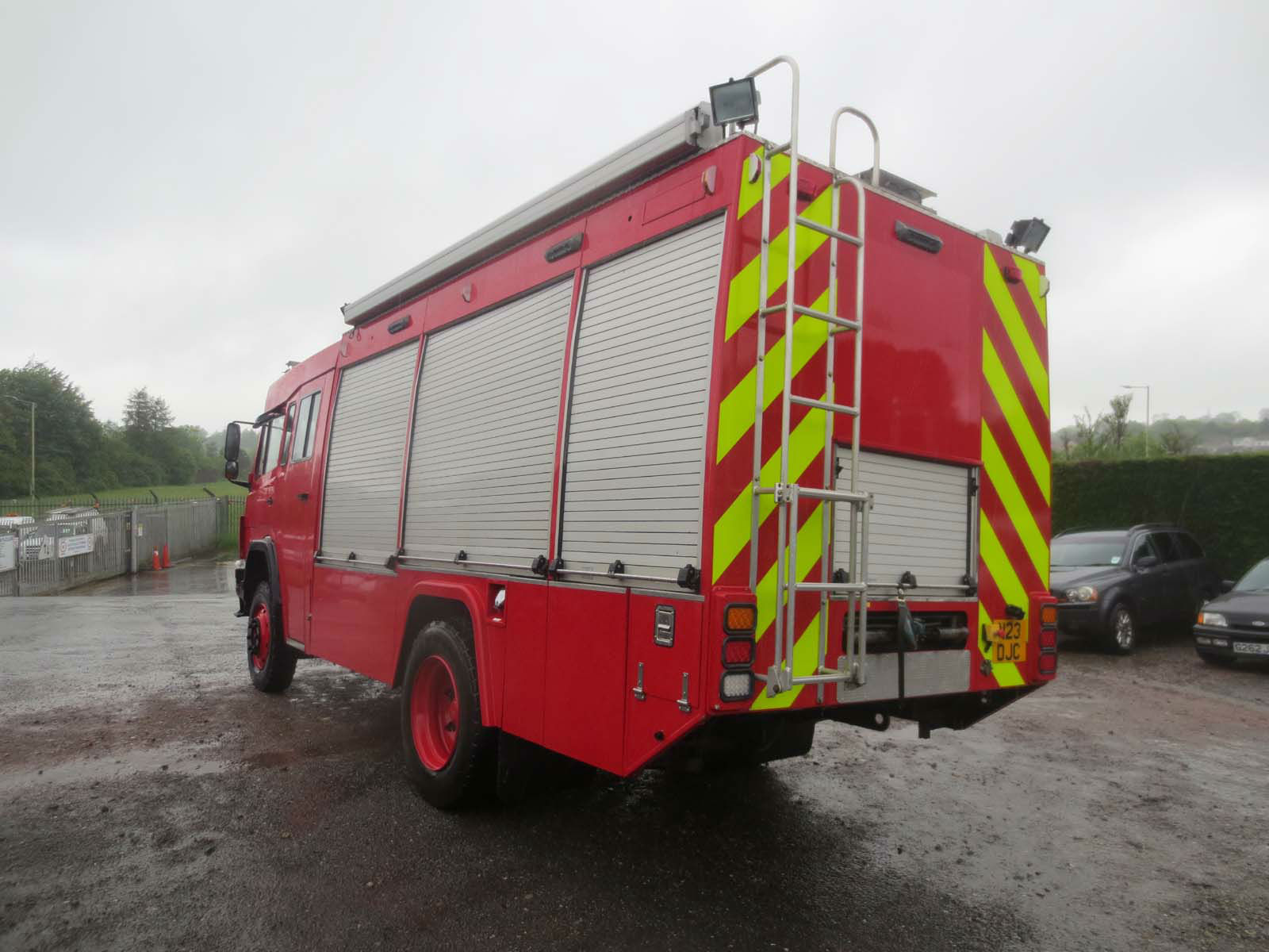 Mercedes 1120 4x4 Incident Response Vehicle to Halifax, Canada