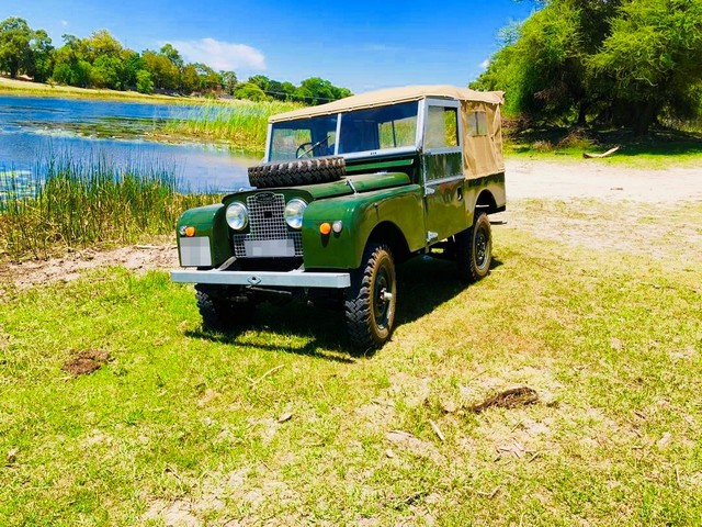 Land Rover Series I shipped to Botswana