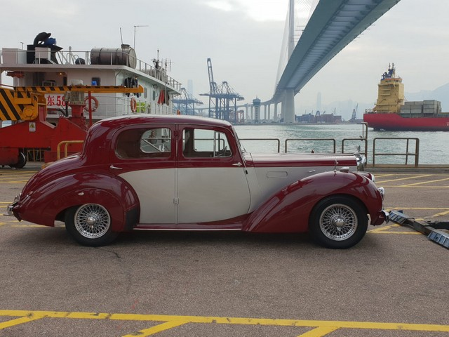 Alvis TA21 Saloon shipped to Hong Kong