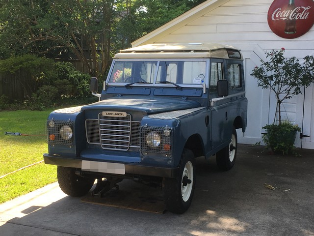 Land Rover Series III shipped to SC, USA