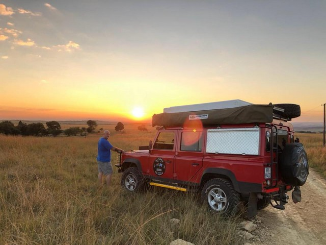Land Rover Defender 110 shipped to South Africa