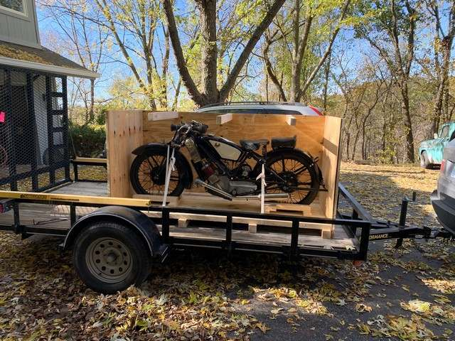 1928 Scott Flying Squirrel shipped to the USA