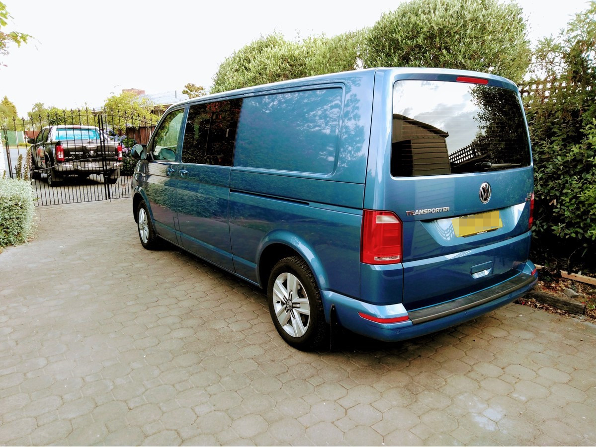 VW Transporter shipped to Christchurch, New Zealand