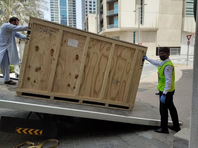 Indian Springfield shipped to Jebel Ali, UAE