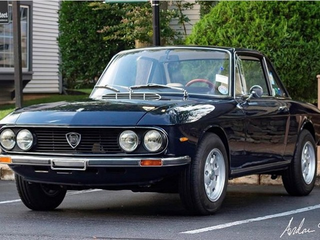 Lancia Fulvia shipped to the USA