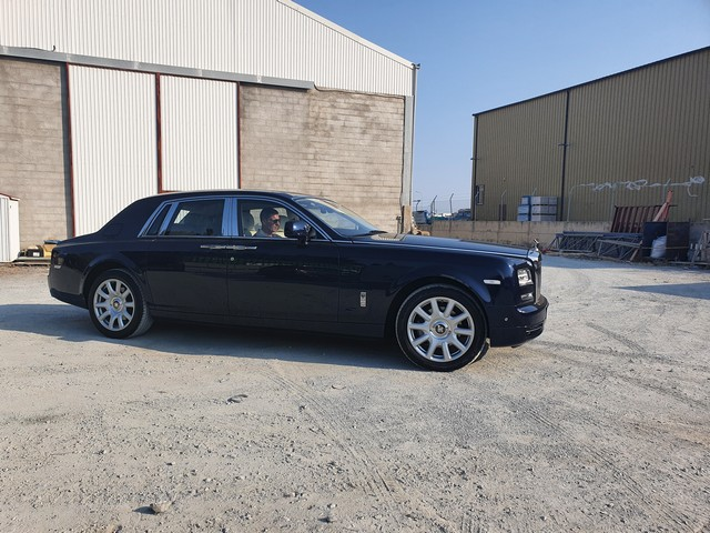 Rolls Royce Phantom shipped to Limassol, Cyprus