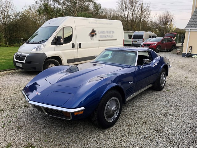 Chevrolet Corvette imported from the USA