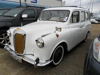 Austin LTI Taxi Shipped from UK to Port Hueneme, USA | Classic Car Shipping