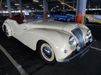 AC Buckland Shipped from UK to Galveston, USA | Classic Car Shipping