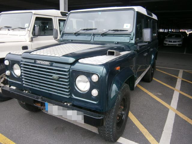 Land Rover Defender shipped to the US by RoRo