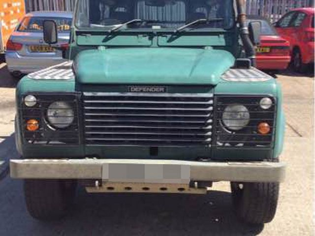 Land Rover Defender shipped to Limassol, Cyprus by RoRo