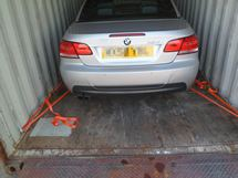 BMW 325 shipped to Cyprus by Container
