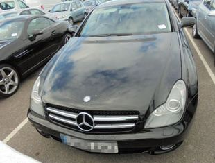 Mercedes shipped to Cyprus by Container