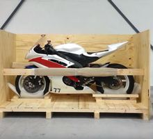 shipping a Yamaha motorcycle overseas
