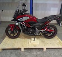 crating a Honda - cost of motorbike shipping