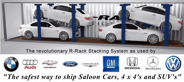What is R-Rak? R-Rak container car shipping