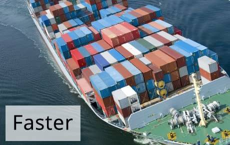 Container Ship | Guaranteed Weekly | 1st Move International Removals