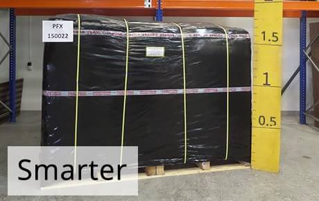 Measured Pallet | Smarter Billing 'Price Guarantee' | 1st Move International Removals