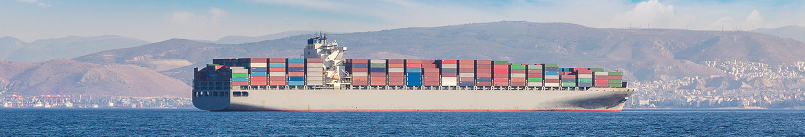 Container shipping vessel